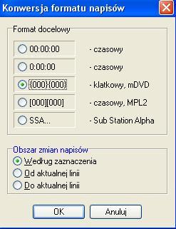 format-napisow