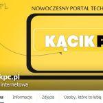 Portal komputerowy KacikPC.pl na FB i Google+