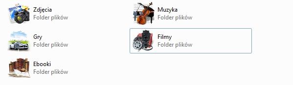 ikony folderow
