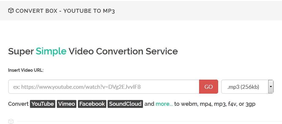 konwersja do youtube