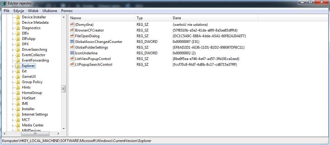 zmiana ikony folderu windows